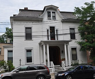 House at 105 Marion Street - Image: Brookline MA 105Marion Street