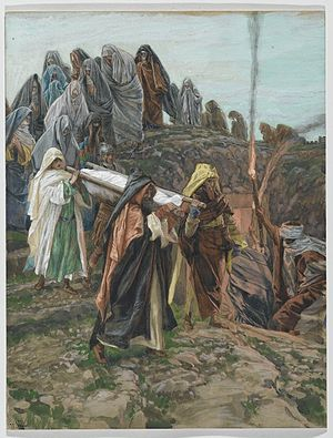 Jesus Carried to the Tomb