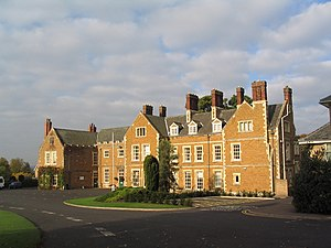 Brooksby - Image: Brooksby Hall geograph.org.uk 584614