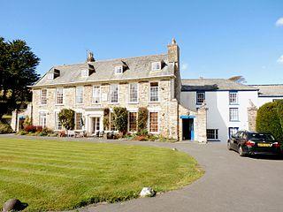 Buckland, Braunton historic estate in Braunton, Devon, UK