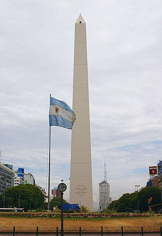 Argentina–United States relations - Image: Buenos Aires 2740f Obelisco