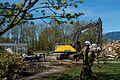 Building A demolition Chilliwack North-1 (25902130470).jpg