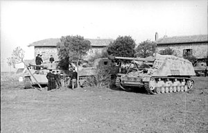 Nashorn - Nashorn in Italy, April/May 1944