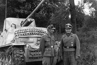 Marder II - A Waffen-SS Marder II and its crew somewhere in Southern Russia during the Wehrmacht's raid into the Caucasus. The vehicle depicted is the Sd.Kfz. 132 variant, also known as a 'Las76', based on the early Panzer II Ausf. D/E chassis mounting a captured Soviet 76 mm gun.