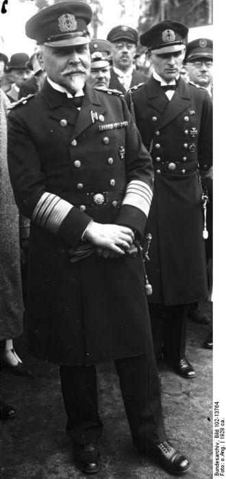Hans Zenker - Admiral Hans Zenker, circa 1928