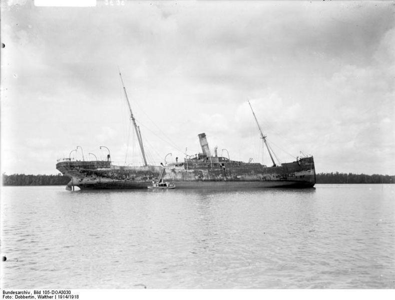 Fájl:Bundesarchiv Bild 105-DOA3030, Deutsch-Ostafrika, Frachter.jpg