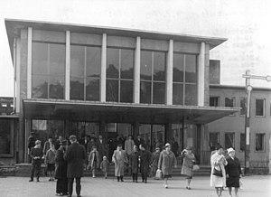 Potsdam Pirschheide station - The station then called Potsdam Hauptbahnhof (1963)