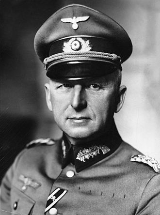 Third Battle of Kharkov - Field Marshal Erich von Manstein, commander of Army Group South at the time of the battle.