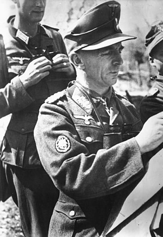 Italian governorate of Montenegro - German mountain forces in Montenegro, June 1943.