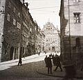 Burgstrasse a Theresienstrasse felől nézve. Fortepan 83670.jpg