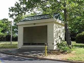 Forrest, Australian Capital Territory - Bus shelter on Arthur Circle