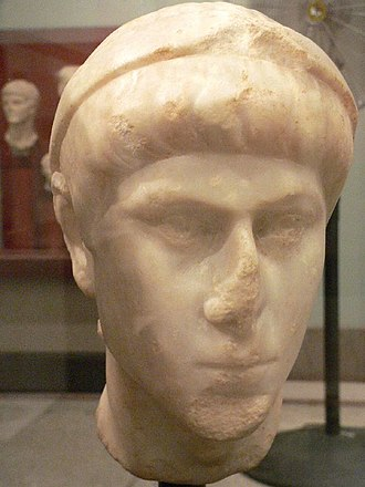 Ammianus Marcellinus - A bust of Emperor Constantius II from Syria.