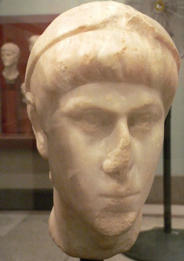 Bust of Constantius II (Mary Harrsch)