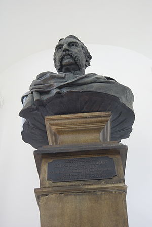 Andrew Clarke (British Army officer) - A bust of Clarke in Victoria Concert Hall, Singapore