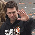 Buster Posey 2012 World Series Victory Parade (cropped1).jpg