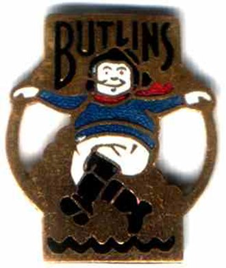 Skegness - Butlin's 1938 badge