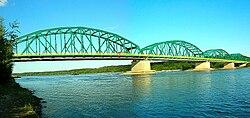 Bydgoszcz Most fordoński panorama