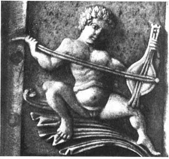 Byzantine lyra - Image: Byzantine Lyra Museo Nazionale