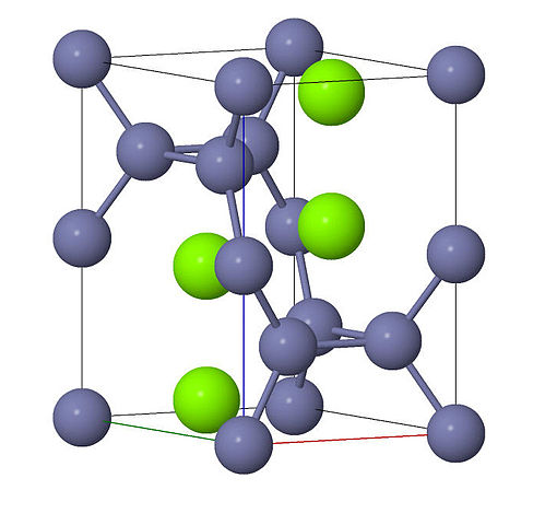 Laves Metal Crystal Structure