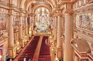 Cathedral Basilica of Our Lady of the Light, León - Internal view