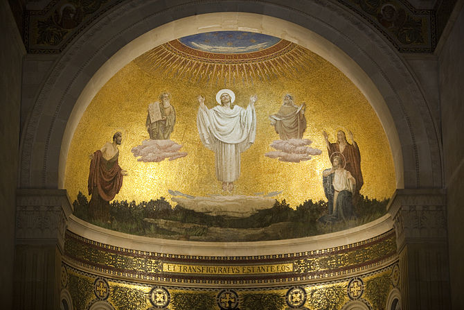 CHURCH OF TRANSFIGURATION - MOSAIC (7723782958)