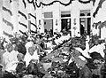 COLLECTIE TROPENMUSEUM Het feestmaal muludan ter herdenking van de geboorte en het leven van de profeet Mohammed te Serang Java TMnr 10001268.jpg