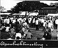 COLLECTIE TROPENMUSEUM Openlucht-festiviteit van het Leger des Heils in Semarang TMnr 60011643.jpg