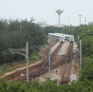 Hainan western ring high-speed railway railway line