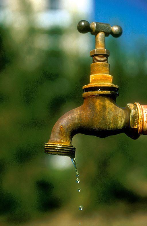 CSIRO ScienceImage 6552 Dripping tap Perth WA 1975