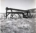 Cable Mountain headworks and remains of cable device. ; ZION Museum and Archives Image 005 04 008 ; ZION 9188 (97cb0990501b438698500d169ae761b8).jpg