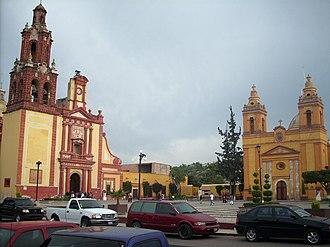 Cadereyta de Montes - Churches in the center of the city of Cadereyta