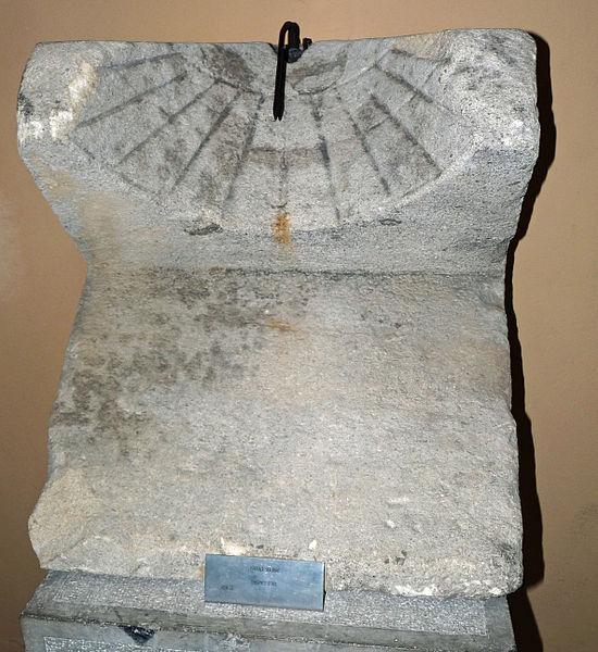 Cadran solaire gallo-romain