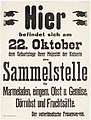 Call for marmelade collection for the birthday of the empress from the patriotic womens association (Vaterländischer Frauenverein), October 1915.jpg
