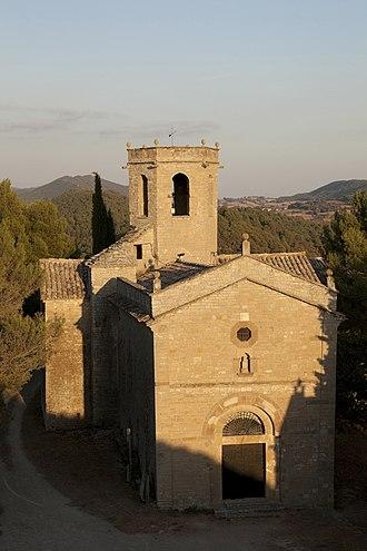 Calonge de Segarra - Santa Fe church, Calonge