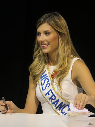 Miss France - Image: Camille Cerf 1