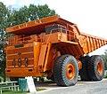 Camion minier géant Lectra Haul à Asbestos.jpg