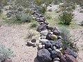 Camp Clipper barracks rock boundary.jpg