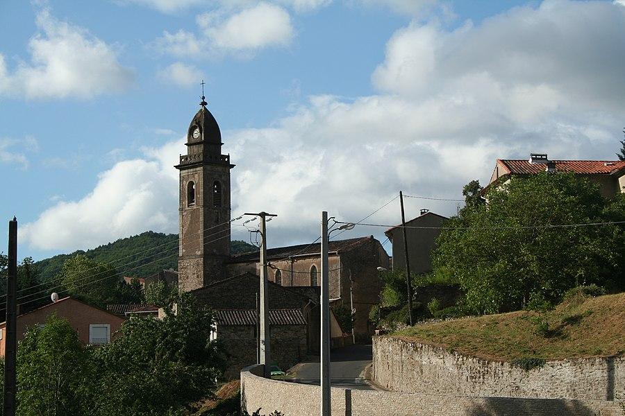 Camplong (Hérault) - église de la Présentation-du-Seigneur dite Saint-Sauveur
