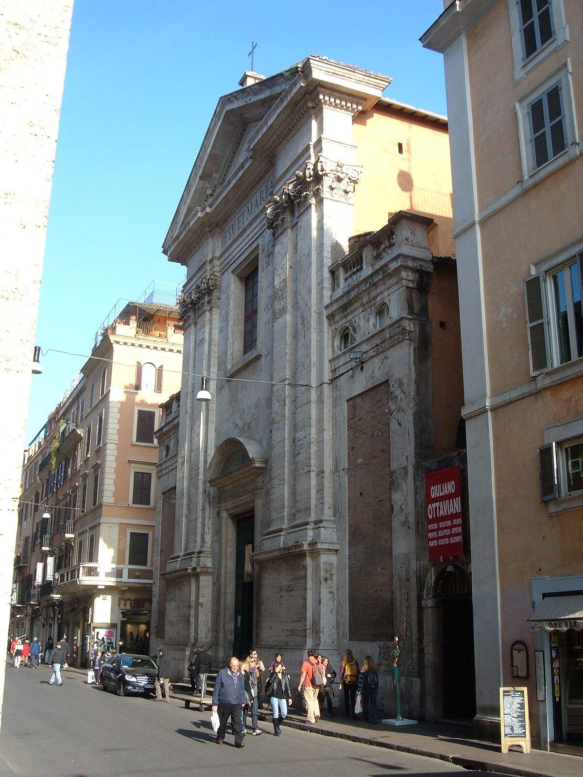 Ges e maria rome wikipedia for Corso arredatore d interni roma