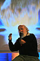Canadian Astrophysicist Hubert Reeves - Conference on the decline of biodiversity, UNESCO Headquarters, Paris.jpg