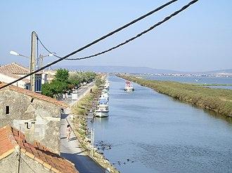 Palavas-les-Flots - Canal du Rhône à Sète
