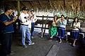 Canciller del Ecuador visita comunidad kichwa Añangu en el Parque Nacional Yasuní (8707958561).jpg