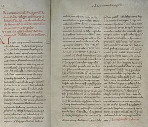 Canon Episcopi - The text of the canon Episcopi in Hs. 119 (Cologne), a manuscript of Decretum Burchardi dated to ca. 1020.