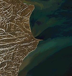 Cape Flissingsky - Satellite image of Cape Flissingsky