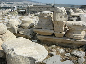 Capitals in acropolis.JPG