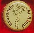 Capsule de bière française de la Brasserie Saint-Rieul (Trumilly, 60).jpg