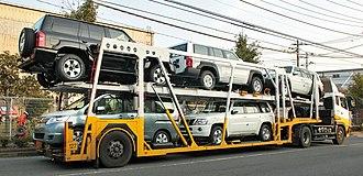 Auto transport broker - Image: Car transporter 001