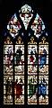 Carentan Église Notre Dame Vitrail Baie 20 Évangélistes et les Pères de l'Église 2014 08 24.jpg