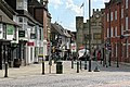 Carfax to Market Square in Horsham, West Sussex, England 01.jpg