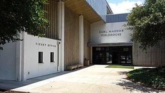 Carl Maddox Field House - Carl Maddox Field House - Main Entrance.jpg